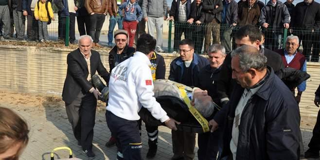 Bursa'da korkutan kaza: 1 yaralı