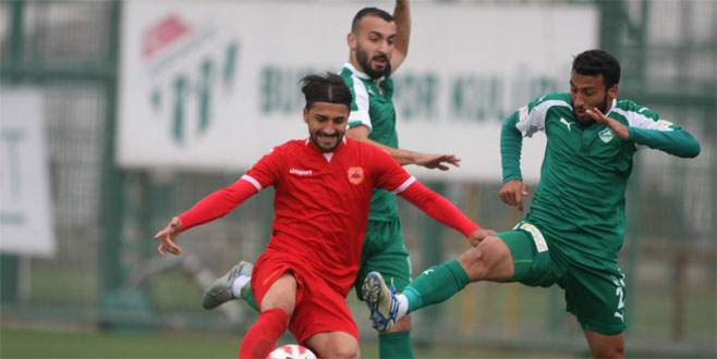 Yeşil Bursa yine kayıp! 0-1