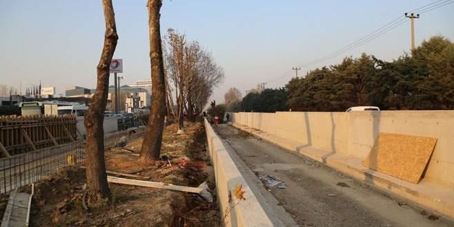 Çalışmalar tamamlandığında, İstanbul Yolu'nun çehresi değişecek