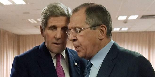 Jonn Kerry'nin Suriye telaşı