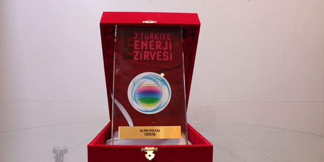UEDAŞ'a 'Altın Voltaj' ödülü