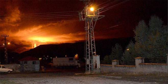 Siirt'te doğalgaz boru hattına terör saldırısı