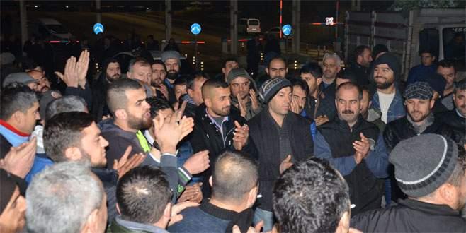 Gemlikli pazarcılar, Bursa Kent Hali'nde eylem yaptı