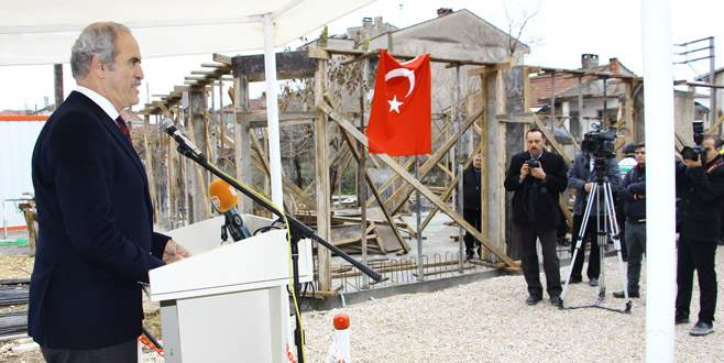 Yenişehir'e kütüphane