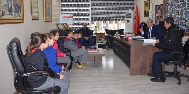 İznik'te eğitime destek