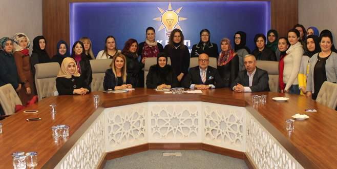 AK Parti Osmangazi Kadın Kolları'nda yeni dönem