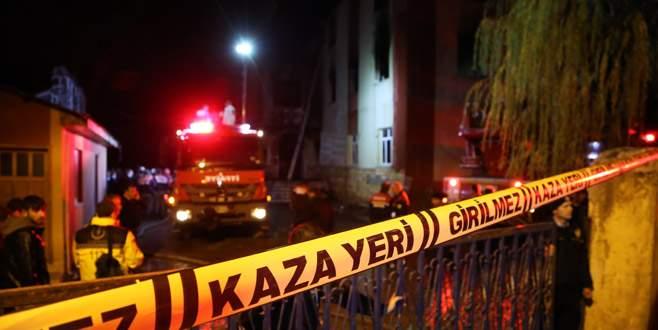 Yurt yangınıyla ilgili bilirkişi ön raporu açıklandı