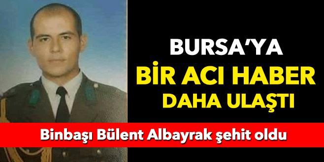 Bursa'da 2 şehit acısı birden