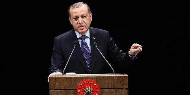 Erdoğan: 'Bu millet, terörü bir ve beraber olarak bitirecektir'