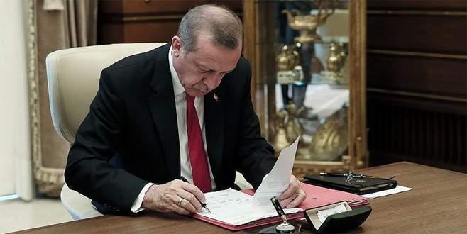 Erdoğan'dan rektör ve YÖK üyeliği ataması