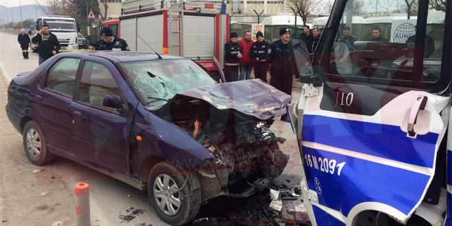 Bursa'da feci kaza: 2 kişi hayatını kaybetti