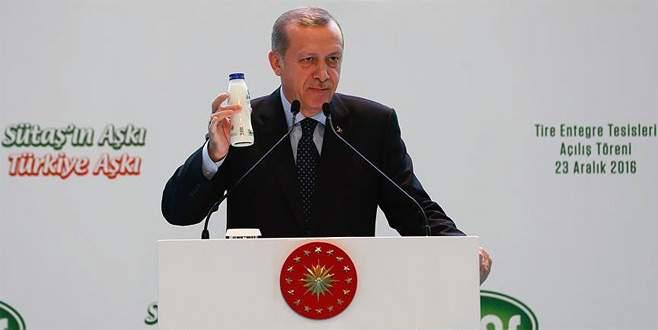 Erdoğan: 'Bizim milli içkimiz ayrandır'
