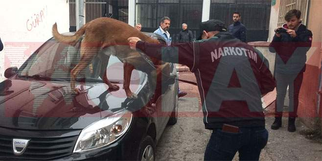 Bursa'da 2 bin polisle uyuşturucu operasyonu!