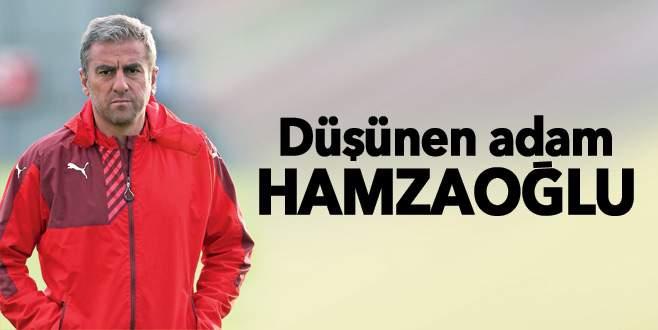 Düşünen adam Hamzaoğlu