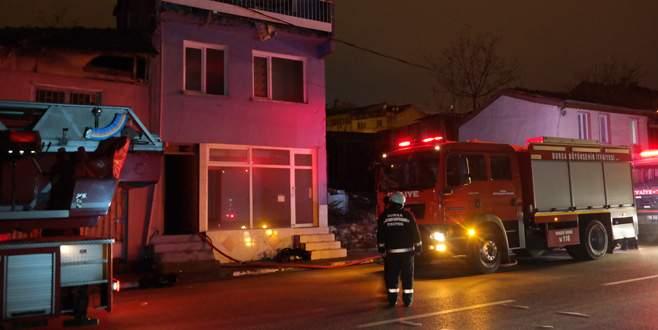 Bursa'da yangın: 1 ölü