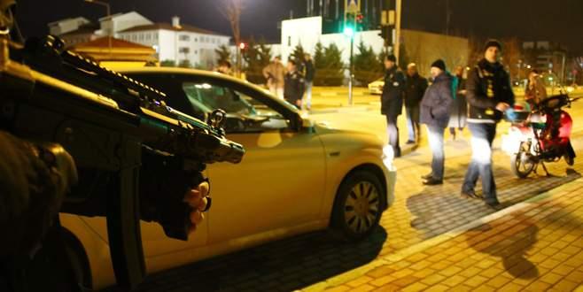 Bursa'da 2 bin polisle dev 'huzur operasyonu'