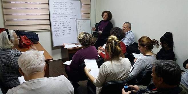 Yunanca kursuna yoğun ilgi