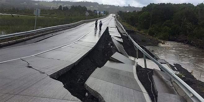 Şili'de 7,6 büyüklüğünde deprem