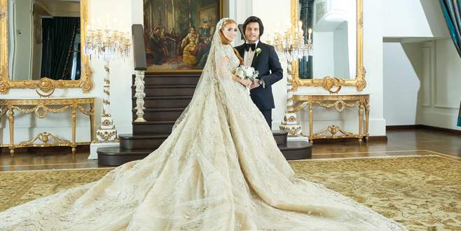 Düğün hediyesi 8 milyon dolarlık ev