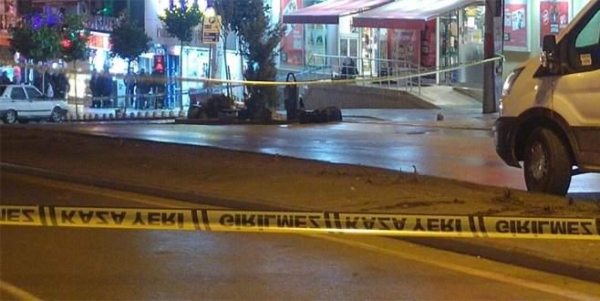 Bursa'da bomba paniği! Şüpheli valiz fünye ile patlatıldı…