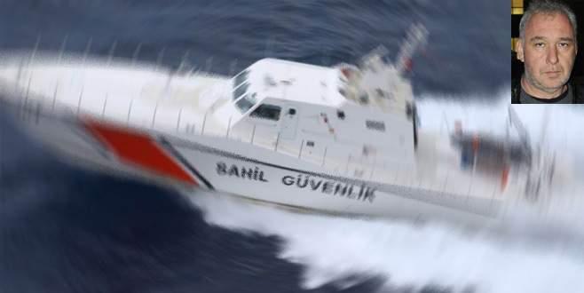 Sahil Güvenlik botu tekneye çarptı: 1 ölü