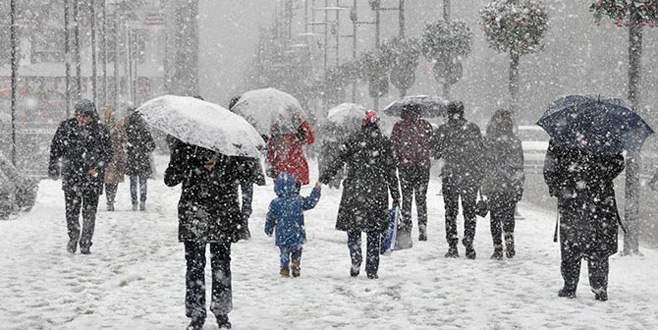 Meteoroloji'den Bursa için kar uyarısı