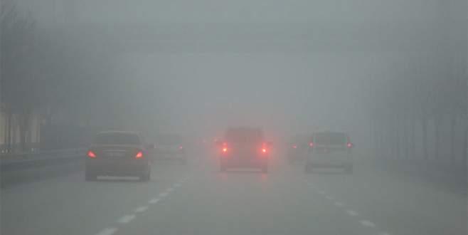 Bursa'da yoğun sis ulaşımı olumsuz etkiledi