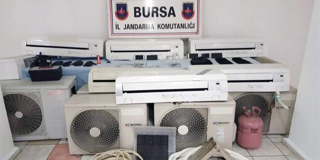 Bursa merkezli klima hırsızlığı operasyonu!