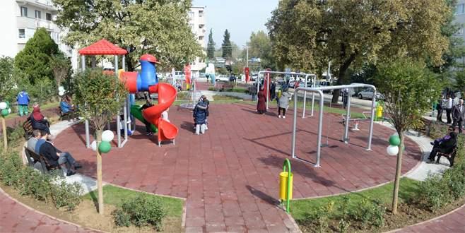 Osmangazi parklarla donatılıyor