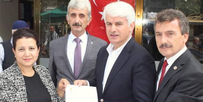 Yenişehir Belediyesi'nden otomotiv test merkezine arazi bağışı