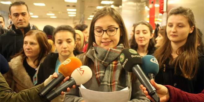 Bursalı hemşirelerden 'Dönerse Senindir' filmine tepki