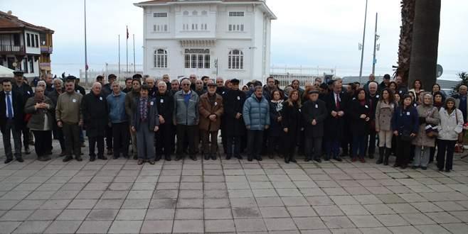 İsmet İnönü Mudanya'da anıldı
