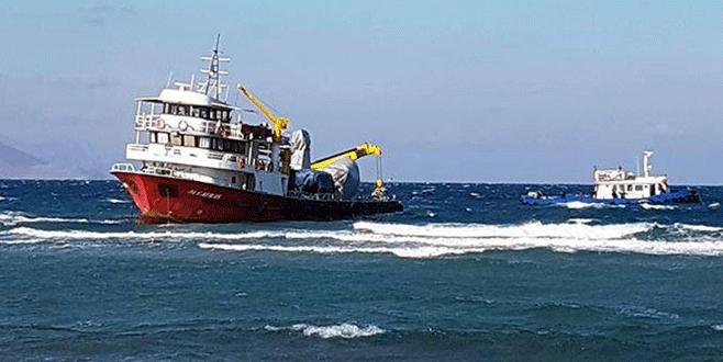 Türk balıkçı teknesi Yunanistan açıklarına sürüklenerek karaya oturdu