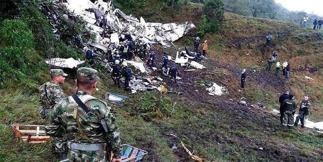 Chapecoense'yi taşıyan uçağın düşüş nedeni belli oldu