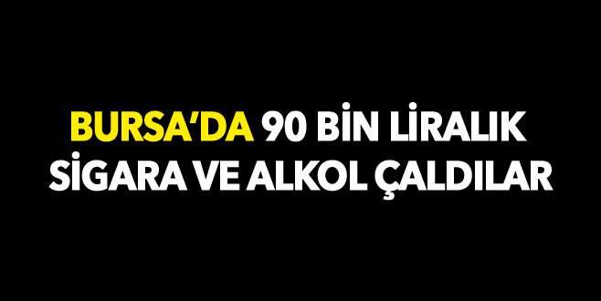 Bursa'da 90 bin liralık vurgun!