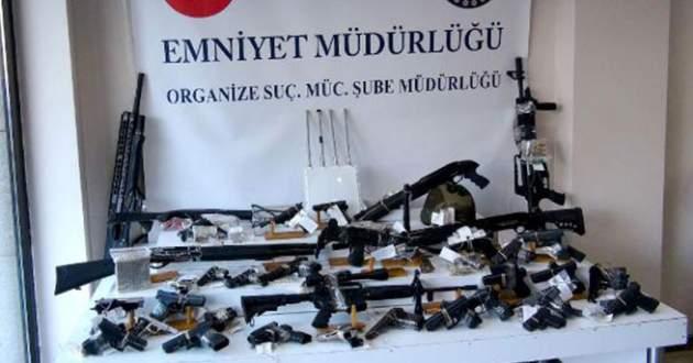 Organize suç örgütlerine operasyon