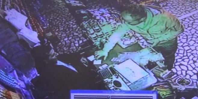'Tırnakçı' güvenlik kamerasına böyle yakalandı