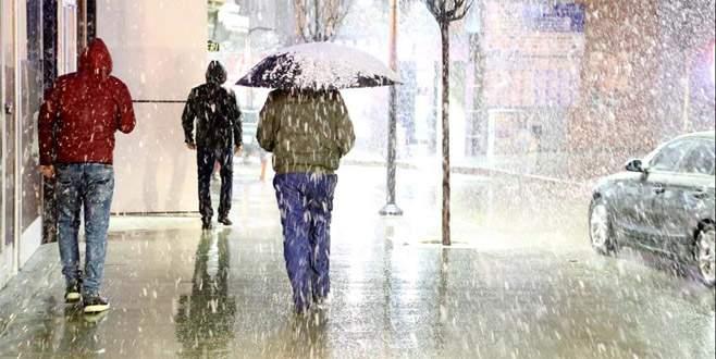 Meteoroloji kar yağışı uyarısı!