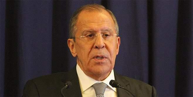 Lavrov'dan 'Suriye' açıklaması