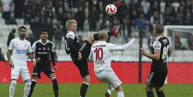 Beşiktaş Ziraat Türkiye Kupası'nda bir üst tura yükseldi