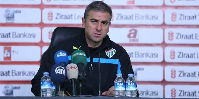 Hamzaoğlu: İkinci yarıda çok daha iyi bir Bursaspor olacak
