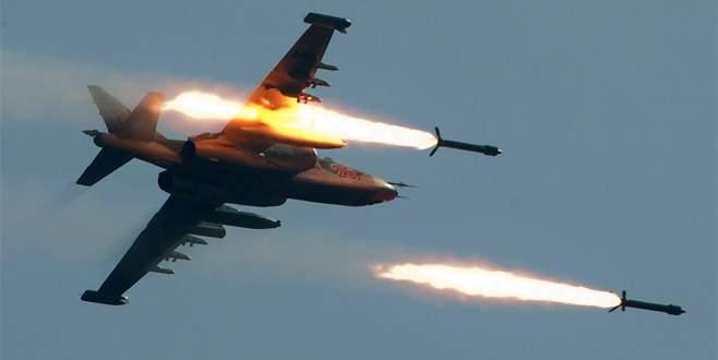 Rus jetleri El Bab'ı vurdu