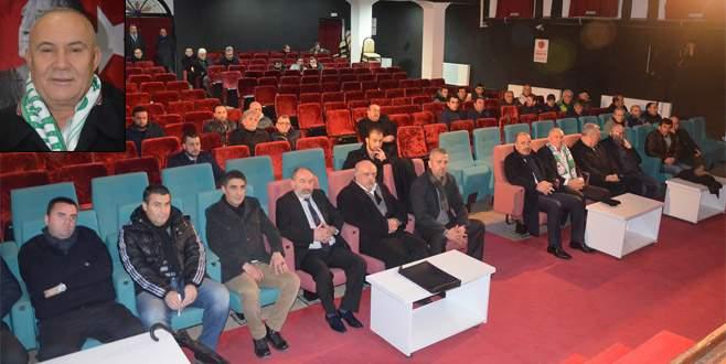 Mudanyaspor'da yeni başkan İlhan!