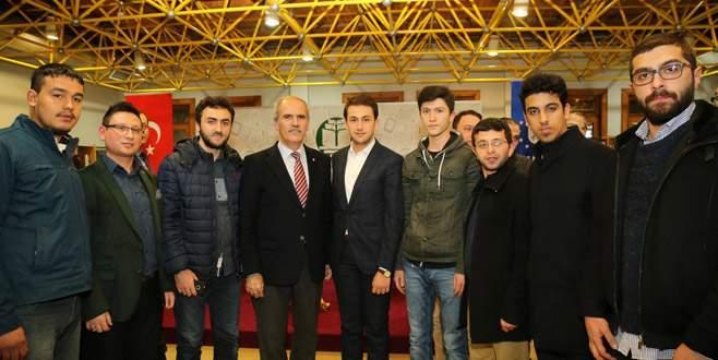 Başkan Altepe tecrübelerini Bursalılarla paylaştı