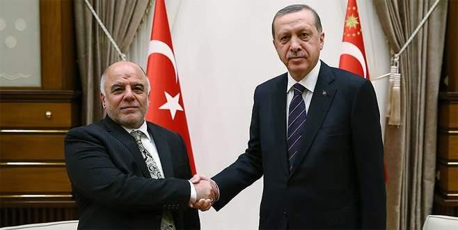 Cumhurbaşkanı Erdoğan, Irak Başbakanı İbadi'yle görüştü