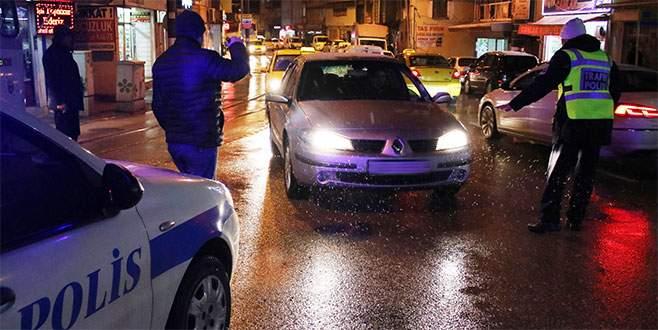 Bursa'da yılbaşı öncesi emniyetten dev operasyon