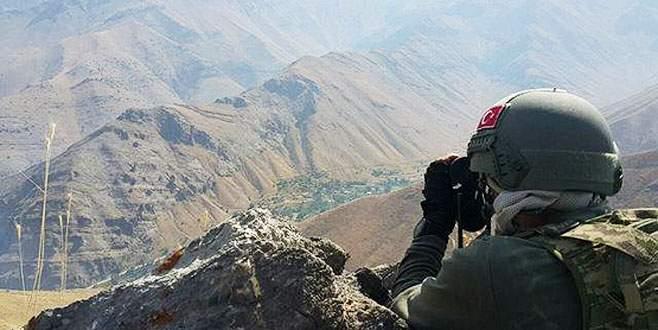 PKK'lı teröristlere 'her yer toz duman'
