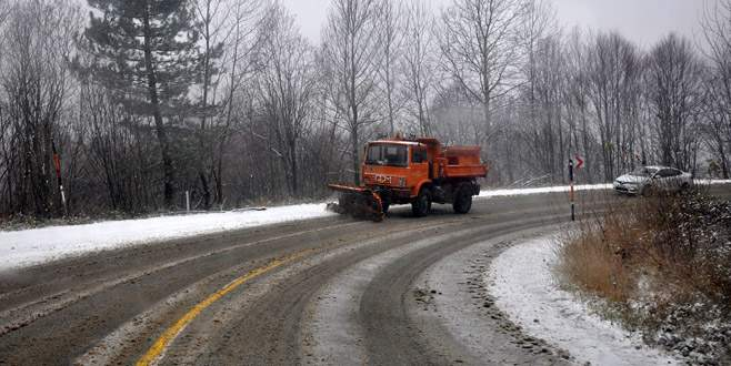 İnegöl karla mücadeleye hazır