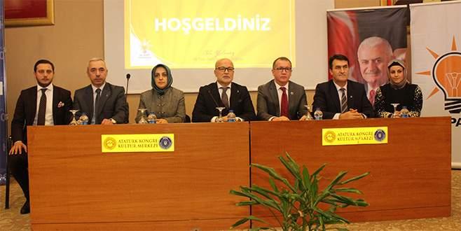 Ak Parti Osmangazi'de görev değişikliği!