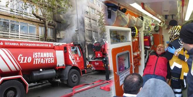 Bagdat Caddesi'nde türkü bar alev alev yandı